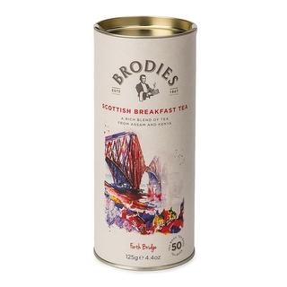 Brodies Scottish Breakfast Tea Drum