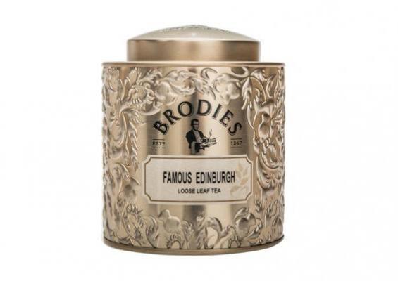 Brodie's Famous Edinburgh Leaf Tea Tin