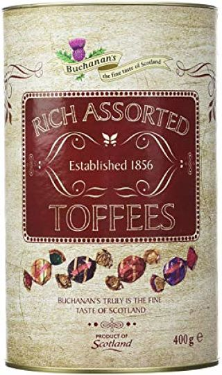 Buchanan's Rich Assorted Toffee's