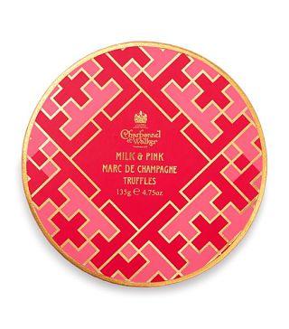 Lattice Collection Pink & Milk Marc de Champagne Truffles