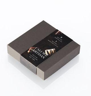 Caluwe Artisan Dark Chocolate Assortment