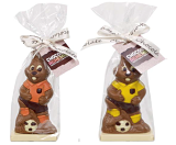Chocolate Football Easter Rabbit