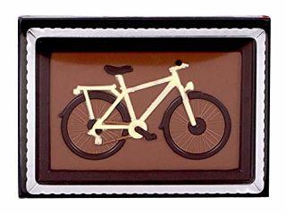 Milk Chocolate Bike in Gift Box
