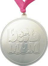 Silver Best Mum Medal