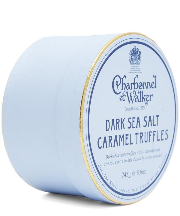 Charbonnel et Walker Dark Sea Salt Truffles