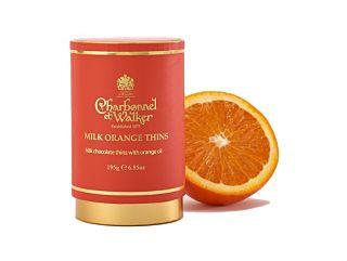 Charbonnel et Walker Milk Orange Thins