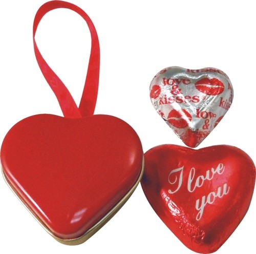 Be My Valentine Heart Tin