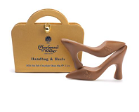Charbonnel et Walker Milk Chocolate with Sea Salt Caramel Handbag and Heels