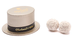 Charbonnel et Walker Mini Top Hat with Milk Chocolate and Sea Salt Caramel Truffles