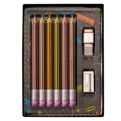 Milk Chocolate Pencil Set
