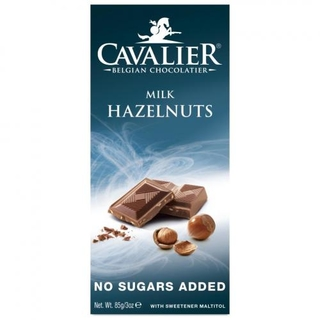 Cavalier Milk Hazelnuts Chocolate Bar