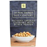 Hickory Smoked Cashews With Black Pepper