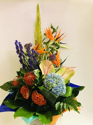 Contemporary Tropical Arrangement