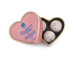 Charbonnel et Walker Pink Himalayan Salted Caramel Truffles Heart