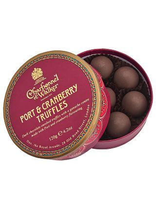Charbonnel et Walker Port & Cranberry Truffles