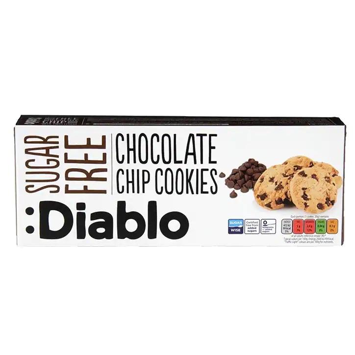 Diablo Sugar Free Chocolate Chips Cookies