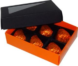 D&D Chocolates 6 Orange Fondant Creams