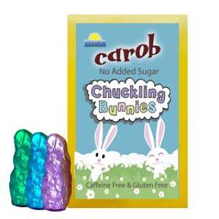 D&D Chocolates Carob No Added Sugar Easter Bunny Shapes