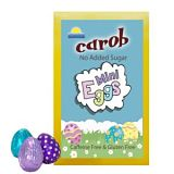 D&D Chocolates Carob No Added Sugar Easter Mini Eggs
