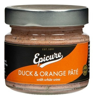 Epicure Duck & Orange Pate