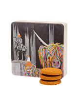 Dean's Stem Ginger Cookies Steven Brown 'Geordie McCoo' Tin