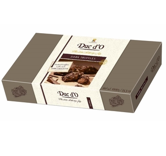 Duc d'O Flaked Dark Chocolate Truffles 1kg
