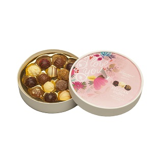 I Love You Round Truffle Box