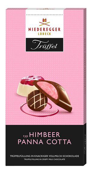 Raspberry Panna Cotta Chocolate