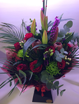 Tropical Twist Hand-Tied Arrangement