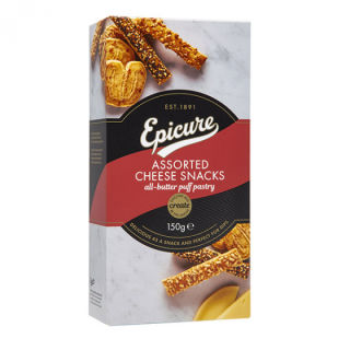 Epicure Assorted Cheese Snacks