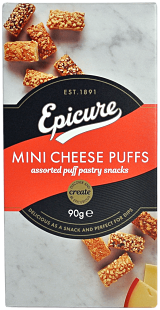 Epicure Assorted Mini Cheese Puffs