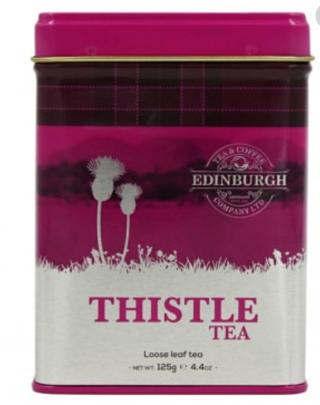 Edinburgh Tea & Coffee Company Thistle Tea Caddy