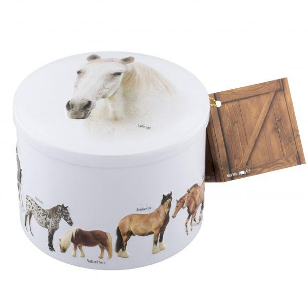 Gardiner's Horse Vanilla Fudge Tin