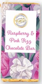 Treat Co Raspberry & Pink Fizz Milk Chocolate