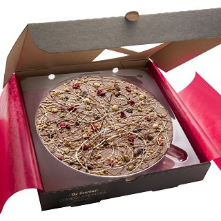 "Crazy Crunch Chocolate 7"" Pizza"