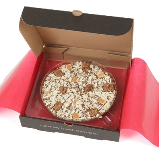 "Crunchy Munchy Chocolate 12"" Pizza"
