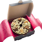 "Crunchy Munchy Mini Chocolate 4"" Pizza"