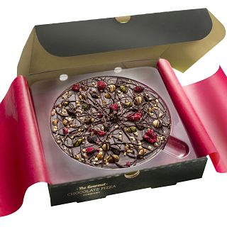 "Decadent Dark Chocolate 7"" Pizza"