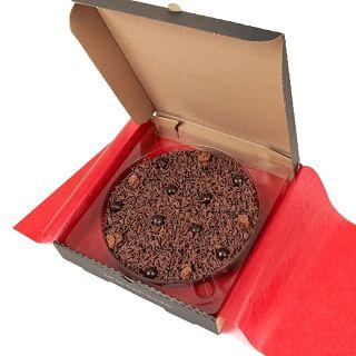 "Delightfully Dark Chocolate 10"" Pizza"