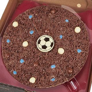 "Football Chocolate 7"" Pizza"