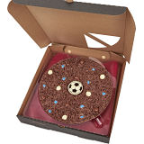 "Football Chocolate 7"" Pizza"