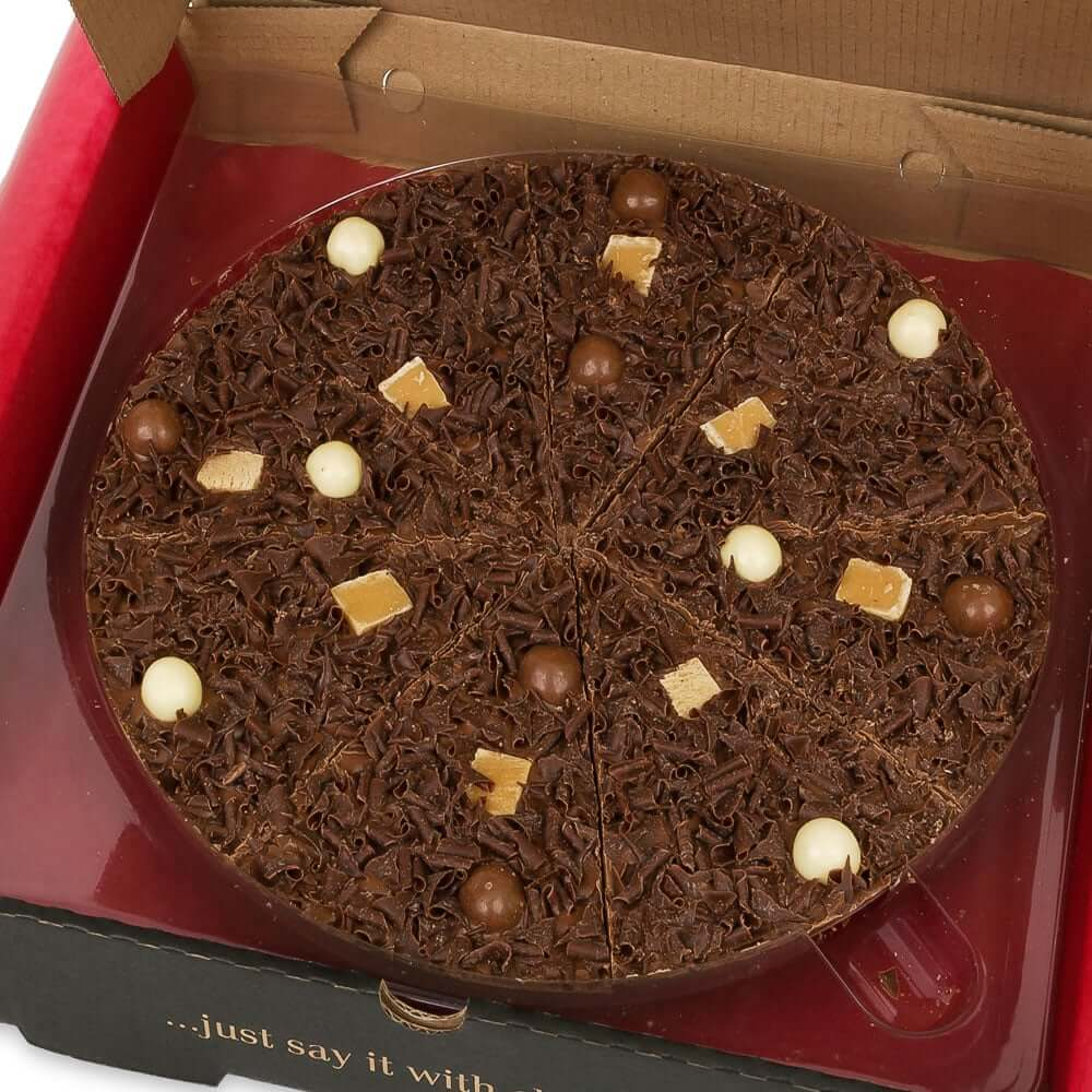 "Heavenly Honeycomb Chocolate 12"" Pizza"