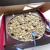 "Honeycomb & Marshmallow Chocolate 7"" Pizza"