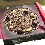 "Irish Cream Chocolate 7"" Pizza"