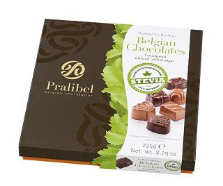 Stevia Belgian Chocolate Selection