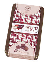 Chocolate Meets Wine Dark Chocolate