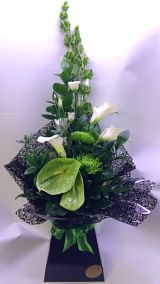 Green Modern Hand-Tied Arrangement