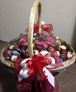 Red Riding Hoods Basket of Treats