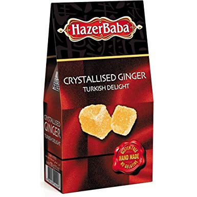 Hazer Baba Crystallised Ginger Turkish Delight