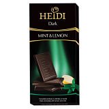 Heidi Dark Chocolate Mint & Lemon Bar